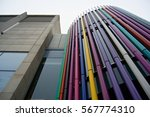 modern design architecture with ... | Shutterstock . vector #567774310