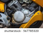 detail on a modern and dirty... | Shutterstock . vector #567785320