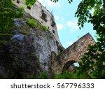likava castle  slovakialikava... | Shutterstock . vector #567796333