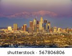 sunset classical view of los... | Shutterstock . vector #567806806