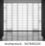 matte semitransparent glass... | Shutterstock . vector #567840220