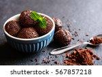 brigadeiro   traditional... | Shutterstock . vector #567857218