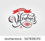 hand drawn valentines day... | Shutterstock .eps vector #567858193