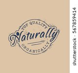 vintage nature products symbol. ... | Shutterstock .eps vector #567859414