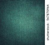 Coarse Turquoise Canvas  Fabri...