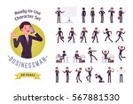 ready to use character set.... | Shutterstock .eps vector #567881530