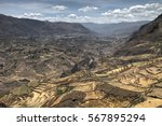 Scenic View Of Colca Canyon In...