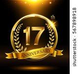 Template Golden Logo 17th...