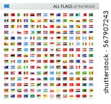 vector collection of all world... | Shutterstock .eps vector #567907243