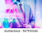 vibrant business concept... | Shutterstock . vector #567924166
