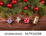 christmas decorations | Shutterstock . vector #567926308