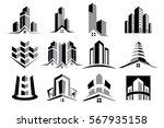 vector logo real estate... | Shutterstock .eps vector #567935158