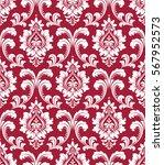 floral pattern. wallpaper... | Shutterstock .eps vector #567952573