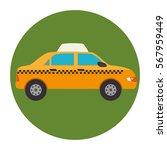 taxi service public icon | Shutterstock .eps vector #567959449