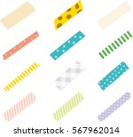 strips of masking tape. | Shutterstock .eps vector #567962014