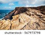 rocks and cliffs along the... | Shutterstock . vector #567973798