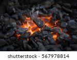 Blacksmiths Coals Burning For...