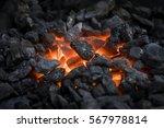 Blacksmiths Coals Burning For...
