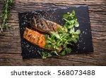 Grilled Salmon Fillets Sesame...