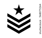military symbol icon image ... | Shutterstock .eps vector #568075264