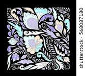 stock vector abstract hand draw ...   Shutterstock .eps vector #568087180