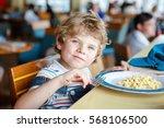 cute healthy preschool kid boy... | Shutterstock . vector #568106500