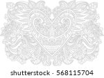 beautiful coloring with an... | Shutterstock .eps vector #568115704