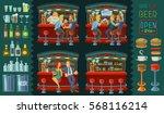 set vector cartoon illustration ...   Shutterstock .eps vector #568116214