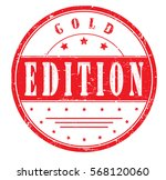 "rubber stamp ""gold edition"" ... 