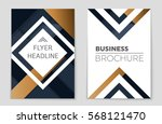 abstract vector layout... | Shutterstock .eps vector #568121470