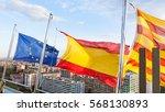 Catalan  Spanish  Eu Flags...