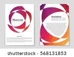 abstract vector layout... | Shutterstock .eps vector #568131853