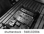 sheet metal stamping tool die... | Shutterstock . vector #568132006