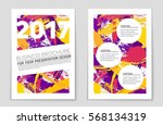 abstract vector layout... | Shutterstock .eps vector #568134319