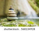 Balanced Rock Zen Stack In...