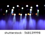 blurred theater stage with... | Shutterstock . vector #568139998