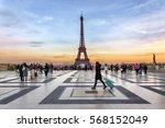 paris  france   december 09...   Shutterstock . vector #568152049