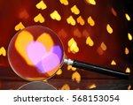 Abstract Heart Bokeh Through...