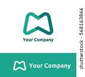 logo of m letter | Shutterstock .eps vector #568163866