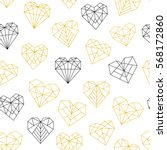 vector pattern of geometric... | Shutterstock .eps vector #568172860