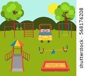 children's playground. set....   Shutterstock .eps vector #568176208
