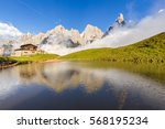 The Pale Di San Martino Peaks ...