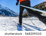 Cross Country Skiing On The...