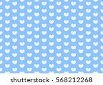 heart pattern. valentines day... | Shutterstock .eps vector #568212268