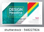 green diagonal banding line... | Shutterstock .eps vector #568227826