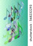 score pattern texture | Shutterstock .eps vector #568232293