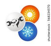 repair air conditioner design ...   Shutterstock .eps vector #568234570