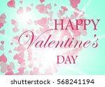 elegant light background with... | Shutterstock .eps vector #568241194