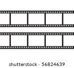 blank negative film | Shutterstock .eps vector #56824639