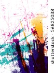 grunge background for text | Shutterstock .eps vector #56825038